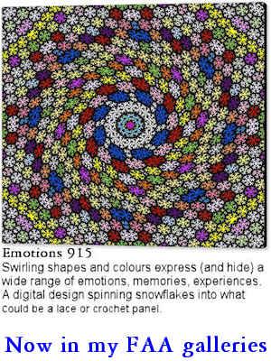 digital art Emotions 915 on canvas